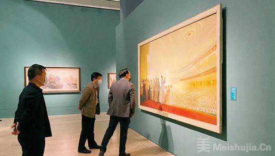 """""""风华凝粹——鲍加艺术展""""在中国美术馆开幕"""