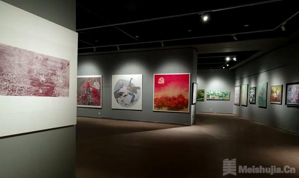 """""""花开盛世""""牡丹美术大赛作品展 在菏泽市美术馆新馆举办"""