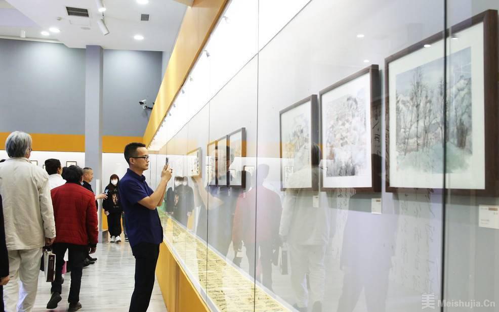 """""""青年艺术家分享交流活动""""于在武侯祠美术馆举行"""